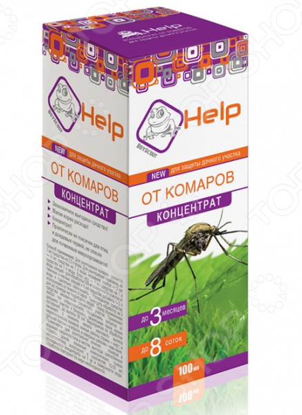 Концентрат от комаров Help 80227