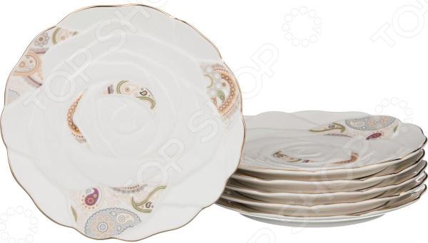 Набор десертных тарелок Lefard «Пашмина»