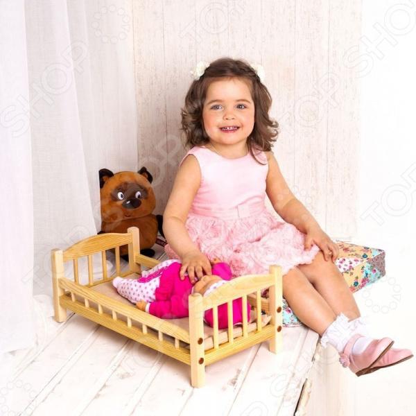 Кроватка для кукол PAREMO классическая
