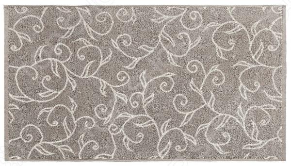 Полотенце махровое Aquarelle «Форест вид 1». Цвет: мокко, светло-бежевый полотенце махровое aquarelle борнео вид 1 цвет мокко белый