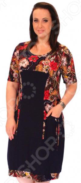 Платье Матекс «Яркое впечатление». Цвет: красный