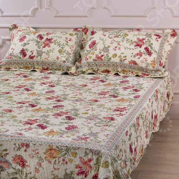 Комплект для спальни: покрывало и наволочки Santalino 806-026 для спальни