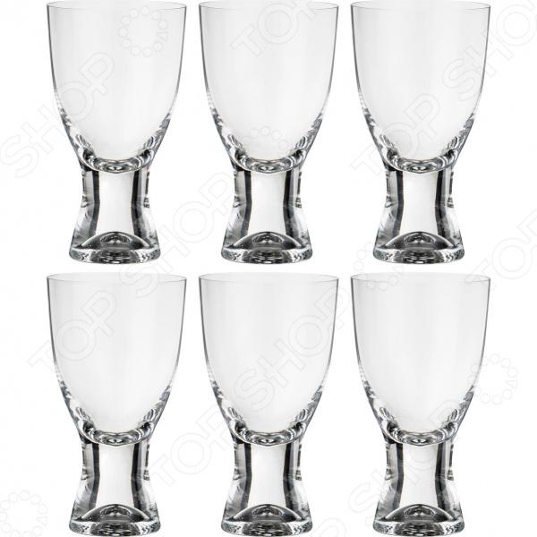 Набор бокалов для вина Bohemia Crystal «Самба» 674-553 набор бокалов crystalex джина б декора 6шт 210мл шампанское стекло