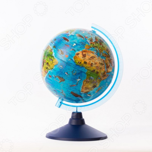 Глобус с подсветкой Globen «Зоогеографический»