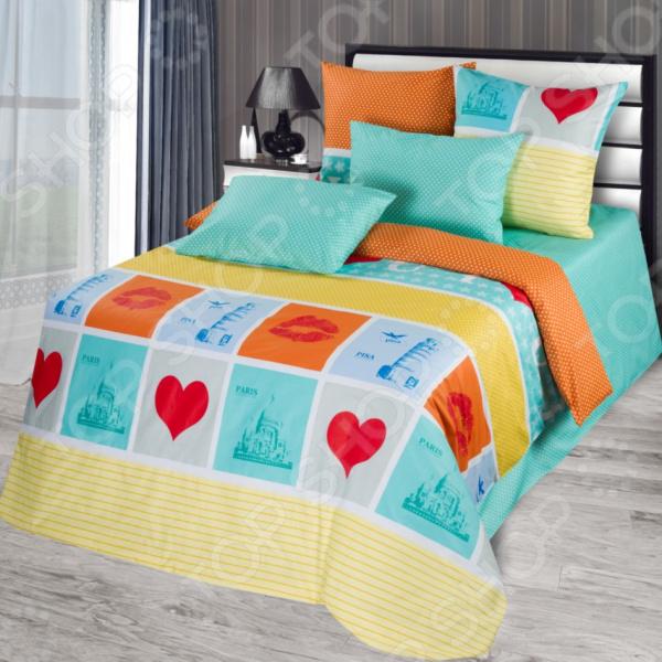 Комплект постельного белья La Noche Del Amor А-719. 2-спальный
