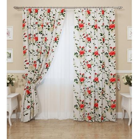 Купить Комплект штор Сирень «Акценты роз»