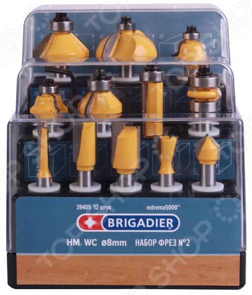 Набор фрез Brigadier 39405