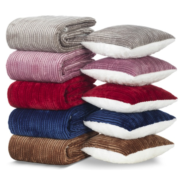 фото Комплект Dormeo «Нежность»: плед и подушка