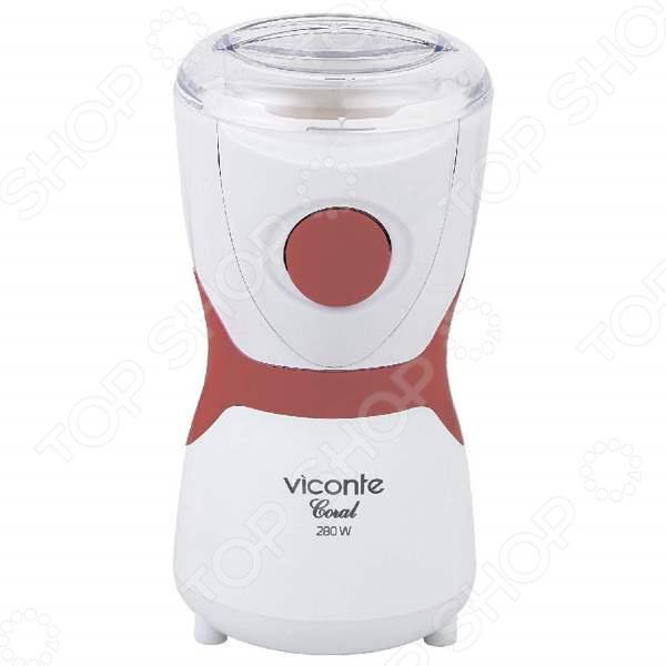 Кофемолка Viconte Coral VC 3106 кофемолка viconte vc 3106 coral