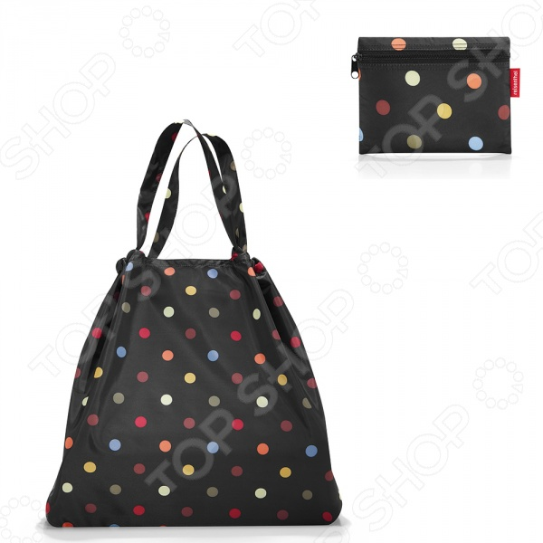 Сумка складная Reisenthel Mini Maxi Loftbag Dots дождевики reisenthel дождевик mini maxi azure dots