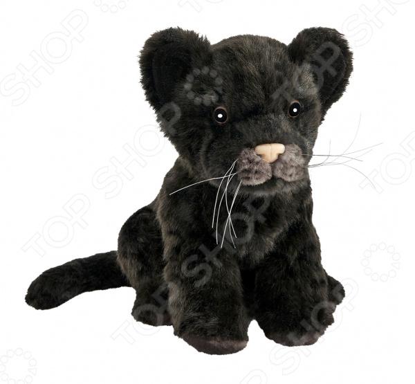 Мягкая игрушка Hansa «Детеныш ягуара черный»