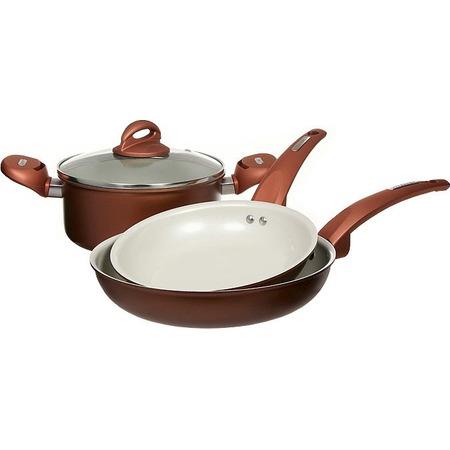 Купить Набор кухонной посуды c внутренним керамическим покрытием Vitesse VS-2216. В ассортименте