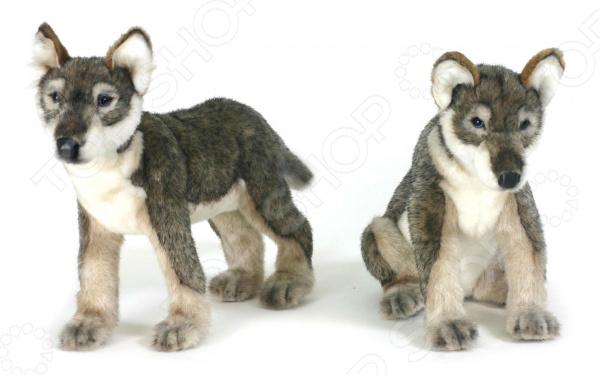 Мягкая игрушка Hansa «Щенок волка стоящий»