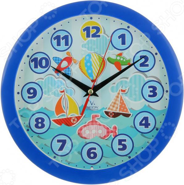 Часы настенные Вега П 1-10/7-204 «Кораблики»