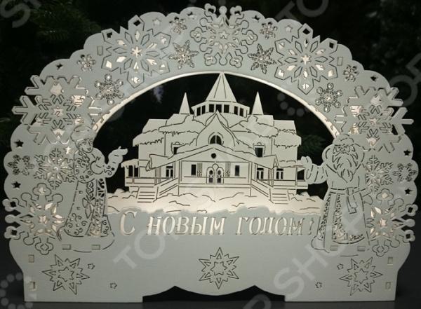 Zakazat.ru: Светильник декоративный 78-703 «Дом деда Мороза»