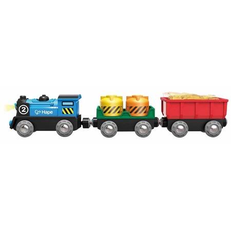 Купить Детали дополнительные для железной дороги Hape «Товарный поезд»