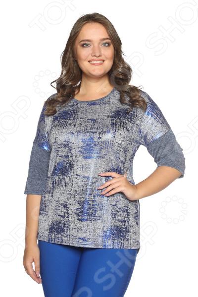 Блуза Blagof «Мелодия души». Цвет: синий блуза blagof мелодия души