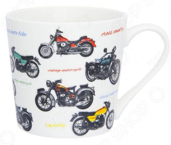 Кружка Elan Gallery «Мотоциклы»