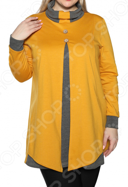 Туника Лауме-Лайн «Эстетика». Цвет: горчичный туника лауме стиль галла цвет зеленый