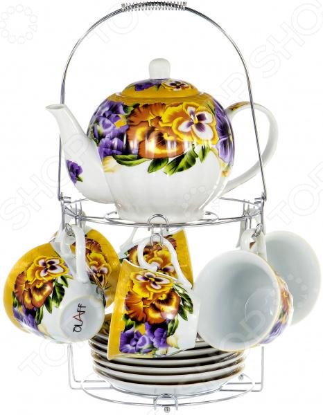 Набор чайный OlAff Metal Stand CM-F13MS-018 набор чайный olaff metal stand dl f6ms 174
