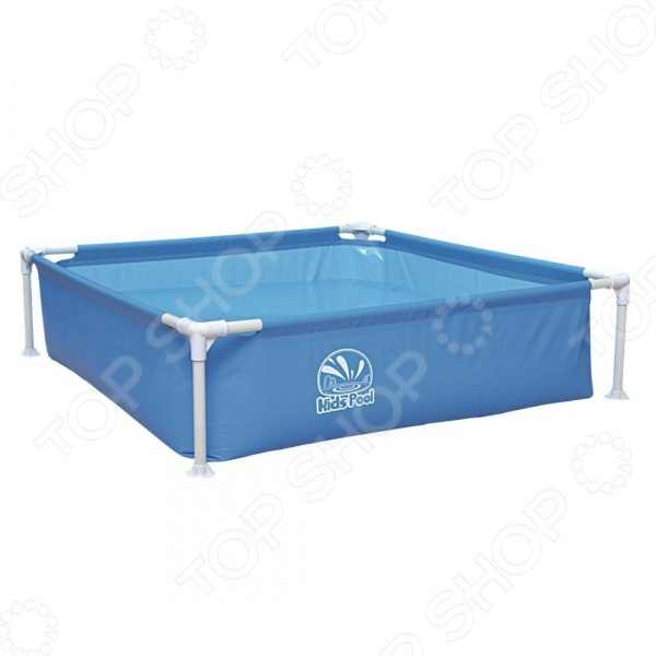 Бассейн каркасный Jilong Kids Frame Pool JL017256NPFV01 бассейн каркасный jilong rectangular 258х179х66см голубой 16101eu