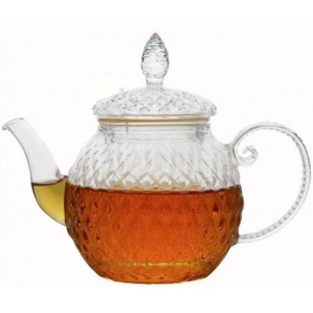 Купить Чайник заварочный Zeidan со стеклянной ручкой