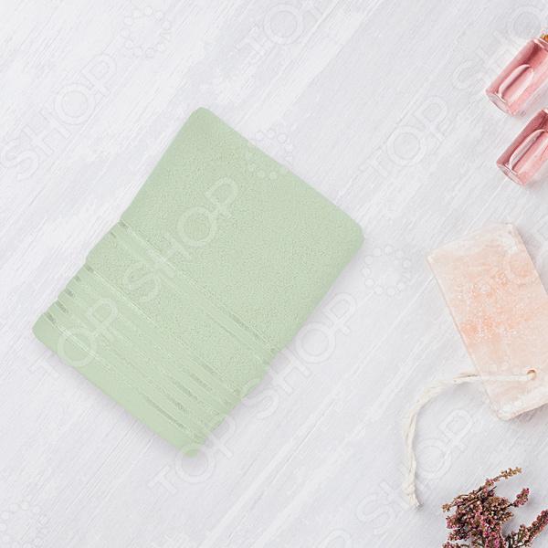 Полотенце махровое Романтика «Патрисия». Цвет: светло-зеленый