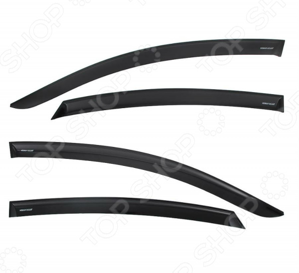Дефлекторы окон неломающиеся накладные Azard Voron Glass Samurai Hyundai Solaris 2011 седан дефлекторы окон неломающиеся накладные azard voron glass samurai mitsubishi lanсer x 2007 седан
