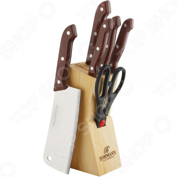 Набор ножей Bohmann BH-5127 MRB набор ножей bohmann 308wd