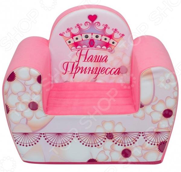 Кресло детское игровое PAREMO «Наша Принцесса»