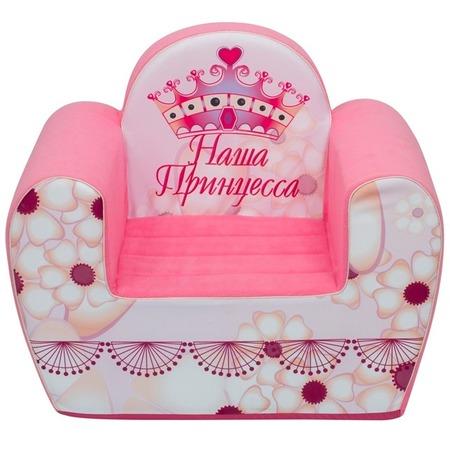 Купить Кресло детское игровое PAREMO «Наша Принцесса»