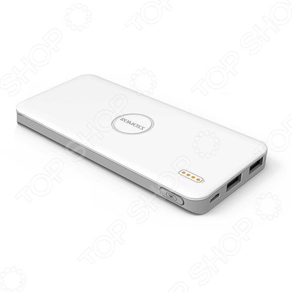 Фото - Внешний аккумулятор Romoss POLYMOS 5 внешний аккумулятор для портативных устройств hiper circle 500 blue circle500blue