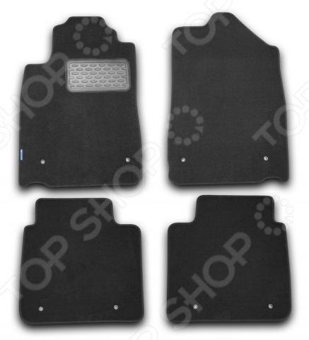 Комплект ковриков в салон автомобиля Novline-Autofamily Lexus ES 350 2010 седан. Цвет: черный комплект 3d ковриков в салон автомобиля novline autofamily ford mondeo 2015
