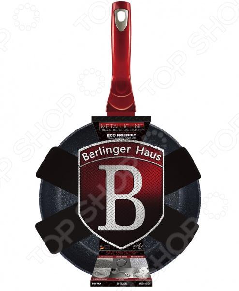 Сковорода Berlinger Haus Black-burgundy Metallic