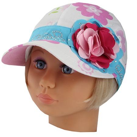 Купить Бейсболка для девочек Shapochka ЯВ101437. В ассортименте