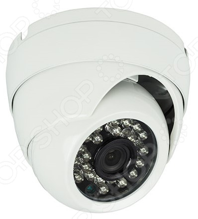 Камера видеонаблюдения купольная уличная Rexant 45-0134 камера видеонаблюдения купольная уличная rexant 45 0134
