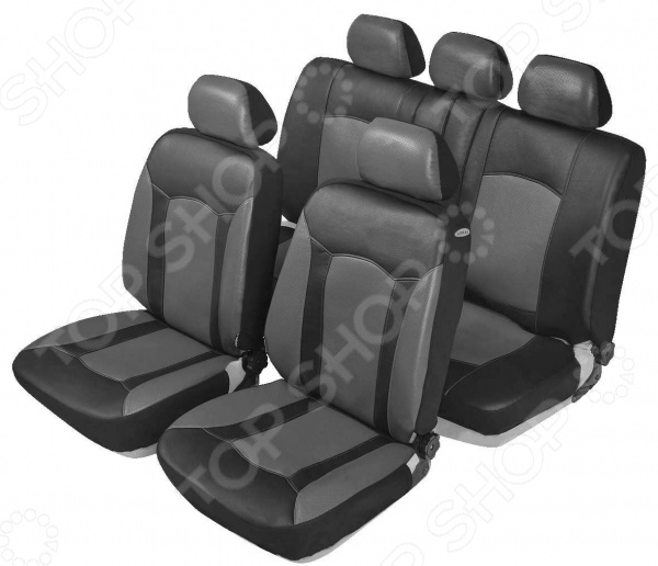 Набор чехлов для сидений Senator Sierra комплект грязезащитных чехлов на передние и заднее сиденья tplus с мешком для хранения цвет синий 3 шт