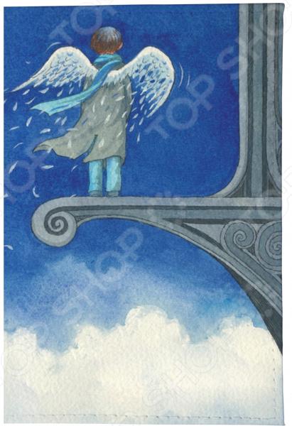 Визитница Mitya Veselkov «Ангел в небесах» визитницы mitya veselkov визитница олени на черном