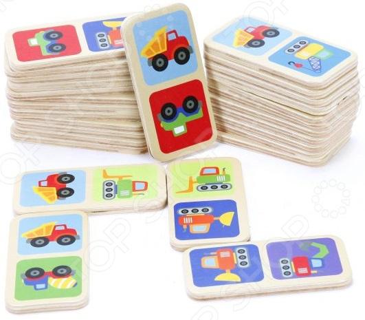 Домино детское Mapacha «Машинки»