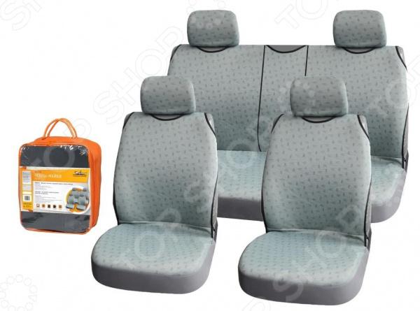 Набор чехлов-маек для передних и задних сидений Airline «Виспер» ASC-KV-06 Набор чехлов-маек для передних и задних сидений Airline «Виспер» ASC-KV-06 /