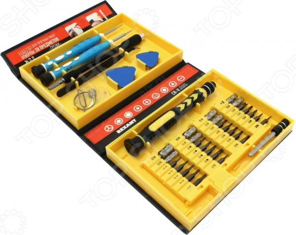 Набор инструментов для точечных работ Rexant 12-4761 набор kraftool отвертки для ремонта мобильных телефонов 12 предметов