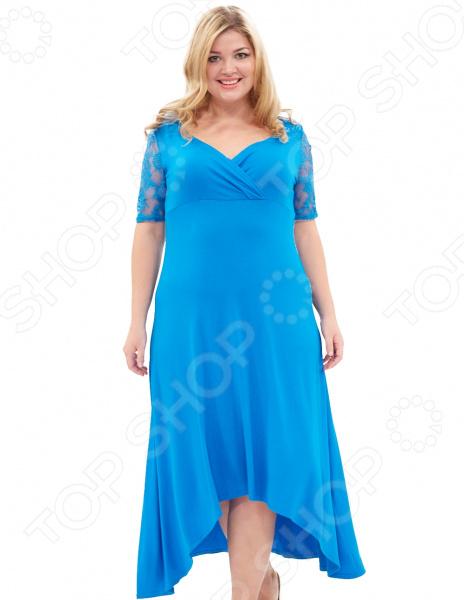 Платье Матекс «Ронда». Цвет: голубой цена 2017