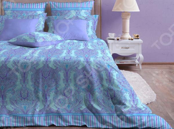Комплект постельного белья Хлопковый Край «Модерн лазурь»