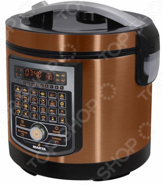 Мультиварка Marta MT-4314 Ceramic  SMART 9 этапов готовки для тех блюд, которые требуют несколько...