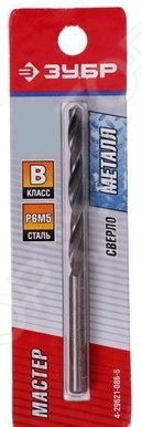 Сверло по металлу Зубр «Мастер» 4-29621