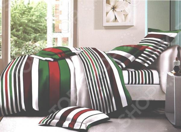 Комплект постельного белья Бояртекс «Яркая полоска». 1,5-спальный