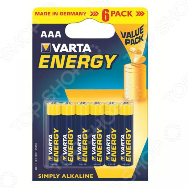 Элемент питания VARTA Energy AAA 6 шт. varta varta energy aaa 4