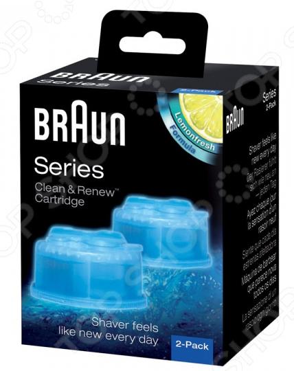 Картридж для электробритв с чистящей жидкостью Braun CCR 2 2