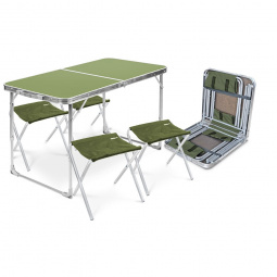 Набор мебели складной Ника ССТ-К2. В ассортименте