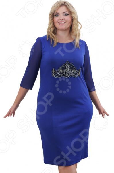 Платье Лауме-Лайн «Леонсия». Цвет: васильковый туника лауме лайн ренессанс цвет васильковый